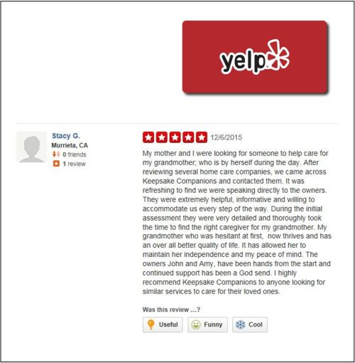 Stacy G. Review - Yelp