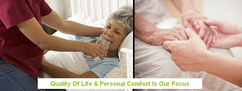 Quality of life is important for those dealing with a terminal illness.